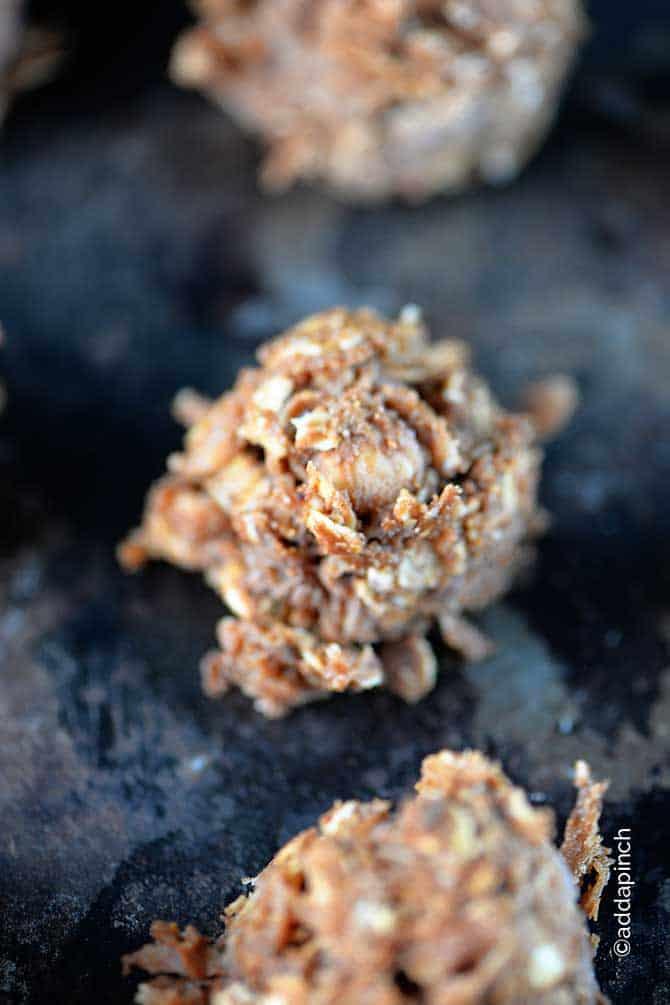Skinny No-Bake Chocolate Cookies Recipe - Add a Pinch