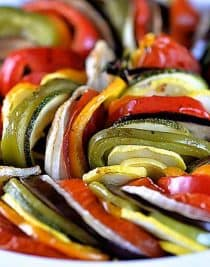 Ratatouille Recipe from addapinch.com