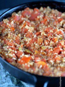 Spanish Rice Recipe with Ground Beef