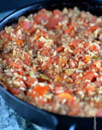 Spanish Rice Recipe from addapinch.com