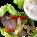 Steak Fajita Lettuce Wraps Recipe