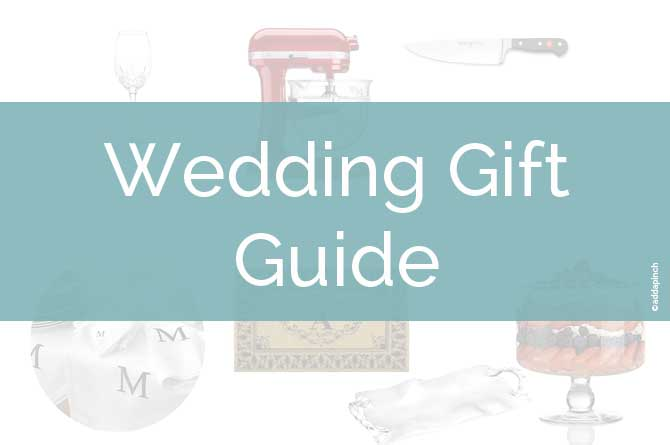 Wedding Gift Guides : ... weddings, you can understand why selecting the perfect wedding gifts