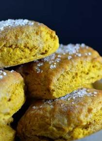 Sweet Pumpkin Biscuits from addapinch.com