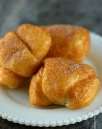 Apple Dumpling Recipe from addapinch.com