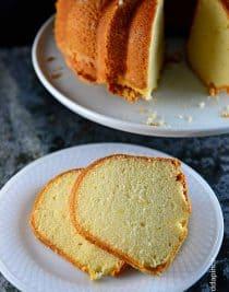 Classic Pound Cake Recipe from addapinch.com