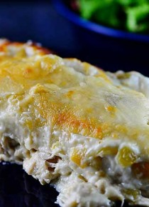 White Chicken Enchiladas from addapinch.com