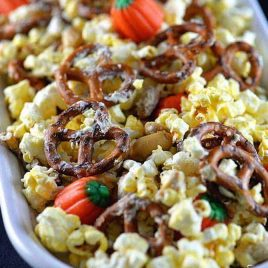 Halloween Snack Mix Recipe from addapinch.com