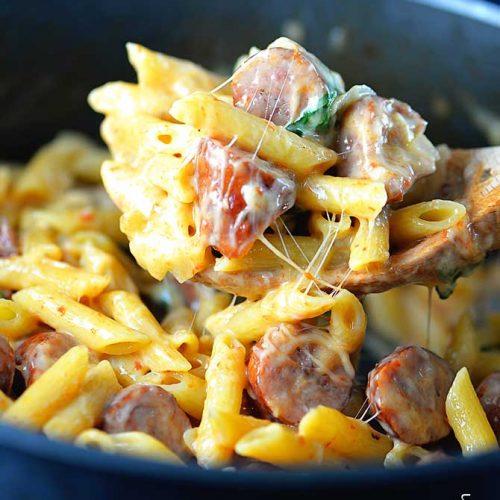 One Pot Penne Pasta Recipe Add A Pinch