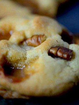 Salted Caramel Pecan Cookies Recipe