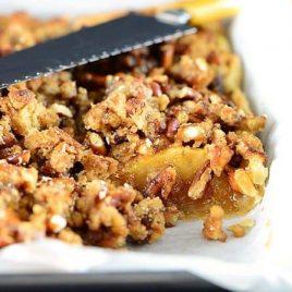 Caramel Apple Slab Pie Recipe