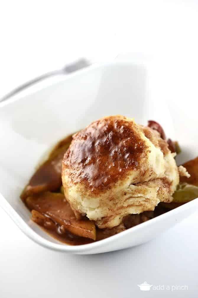 apple cobbler recipe add a pinch