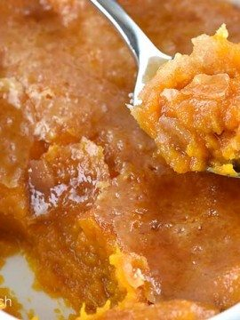 Bruleed Sweet Potatoes Recipe