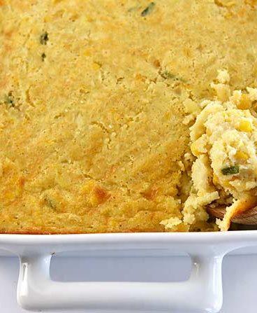 Corn Casserole Recipe from addapinch.com