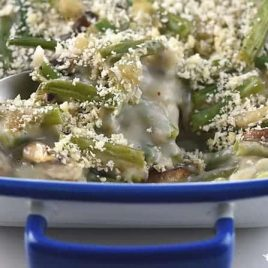 Green Bean Casserole Recipe from addapinch.com