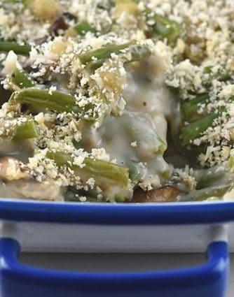Green Bean Casserole Recipe from addapinch.com