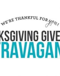 Thanksgiving Extravaganza Giveaway!