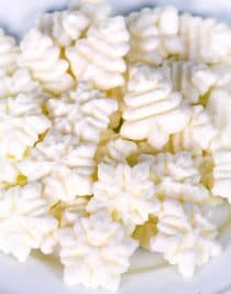 Cream Cheese Mints Recipe - These easy and delicious cream cheese mints melt in your mouth and make a favorite candy during Christmas or anytime! // addapinch.com