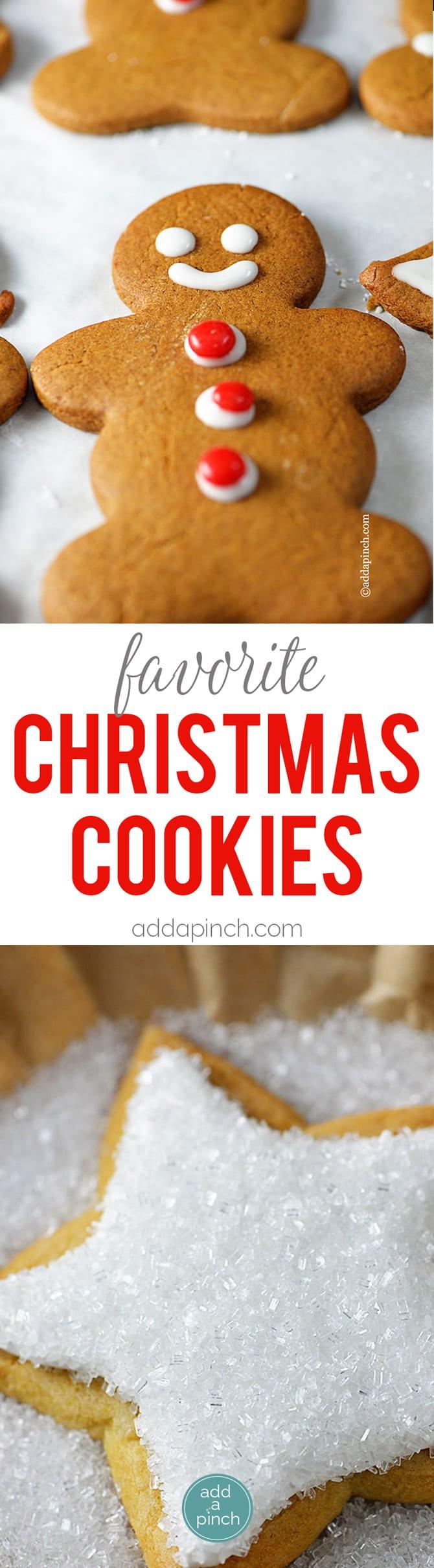 Favorite Christmas Cookies – Christmas cookies from sugar cookies to ...