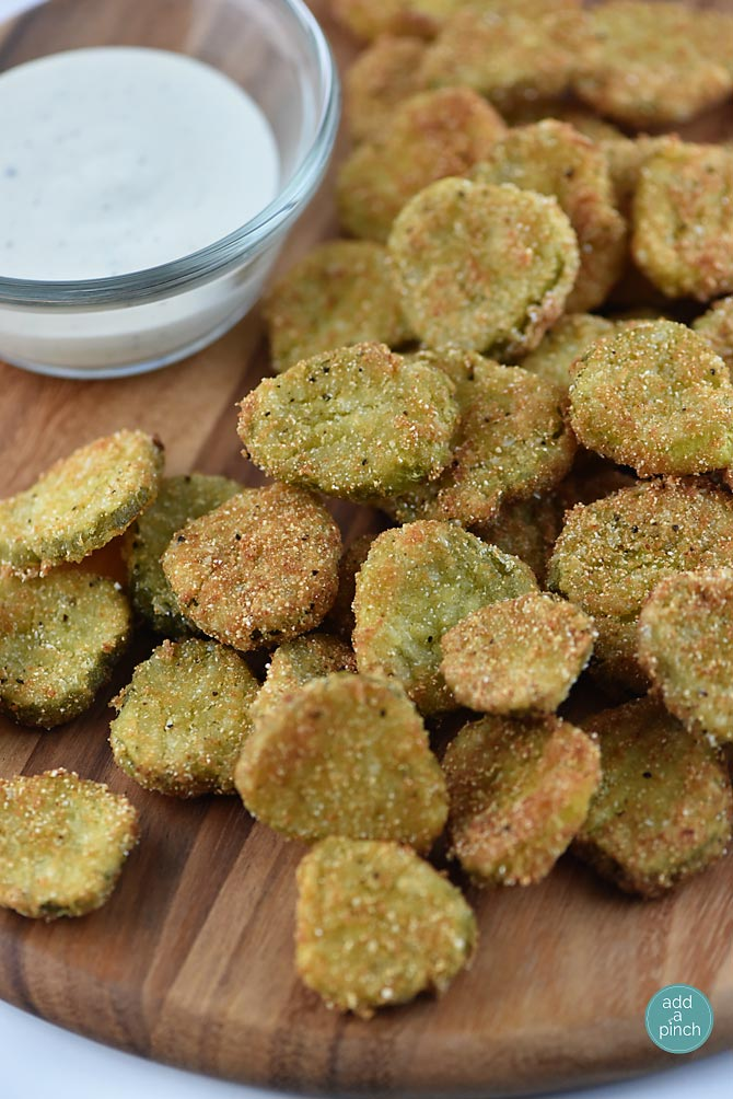 Fried Dill Pickles Recipe Add A Pinch