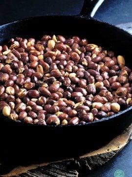 Skillet Roasted Peanuts Recipe