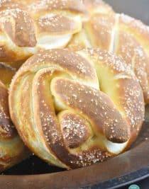 Soft Pretzel Recipe from addapinch.com