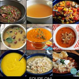 Soups On Round-up from addapinch.com