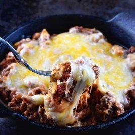Spaghetti Squash Lasagna Recipe from addapinch.com