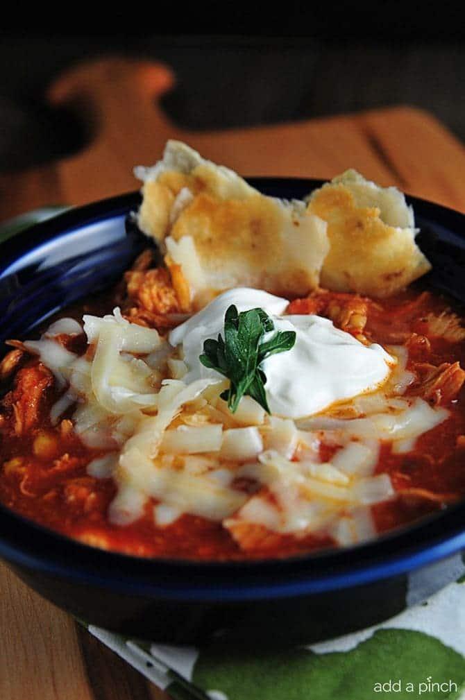 Chicken Tortilla Soup makes a scrumptious soup with little effort ...