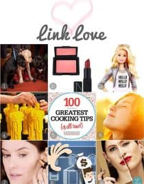 This week's Link Love includes favorites from around the web most-used Red Carpet beauty products, Food Network's greatest cooking tips, and more.