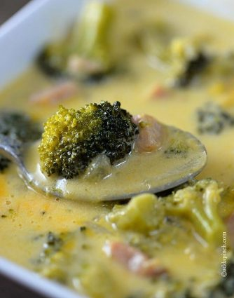 Broccoli Cheese Soup Recipe - Broccoli Cheese Soup makes a comforting, delicious homemade soup perfect for lunch or supper. Get this easy broccoli cheese soup recipe the whole family will love. // addapinch.com