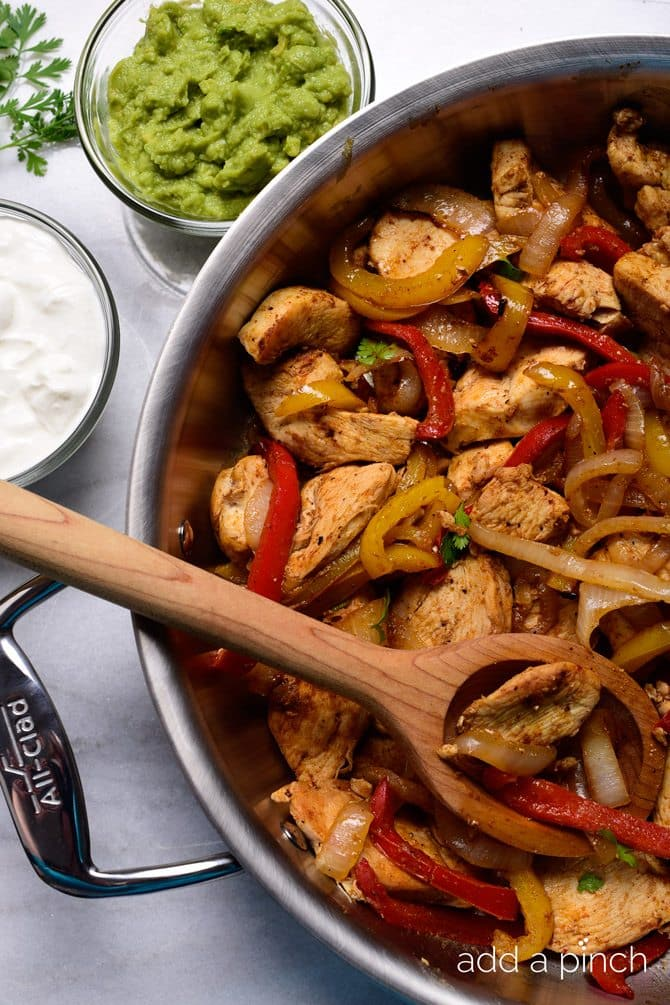 Chicken Fajitas Recipe 30 Minute Meal Add A Pinch