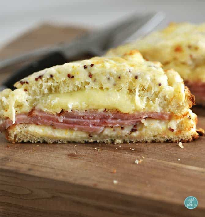 Simple Croque Monsieur Recipe — Dishmaps