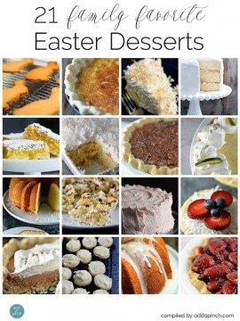21 Family Favorite Easter Desserts