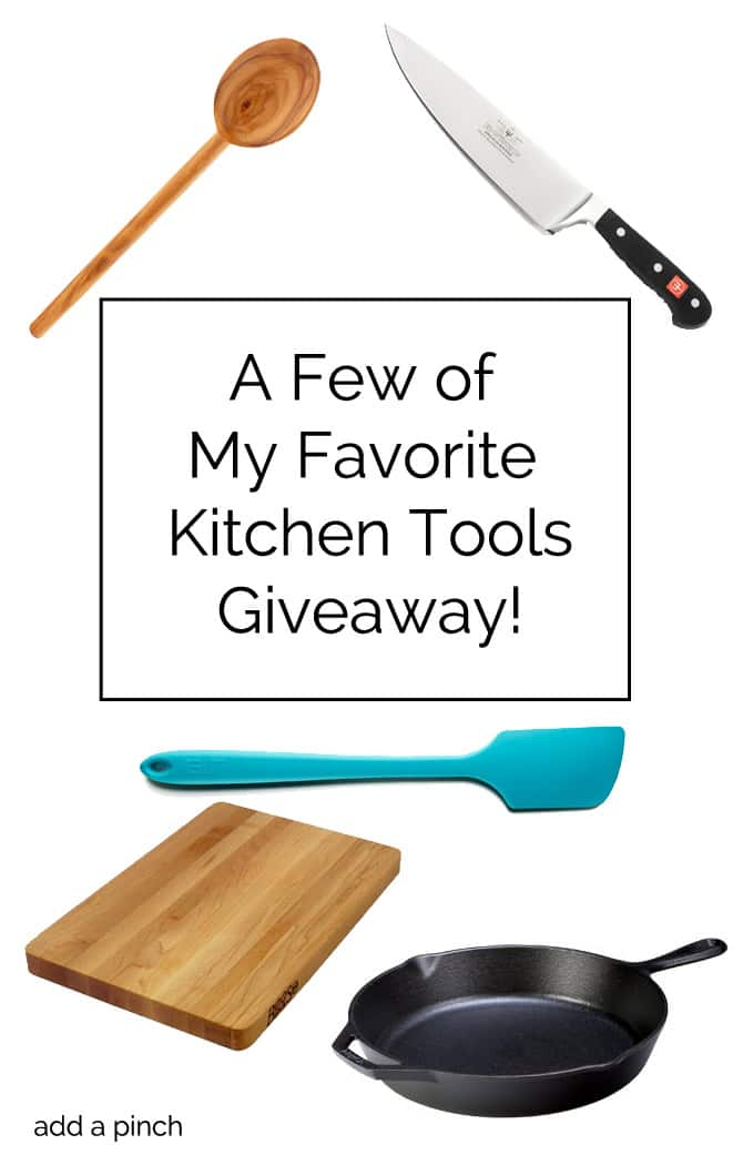 Kitchen Tool Giveaway! from addapinch.com