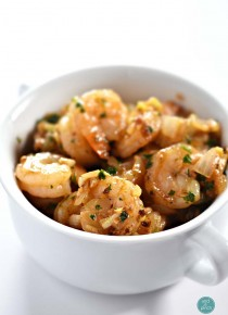 Brown Butter Garlic Shrimp Recipe