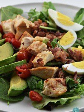 Roast Chicken Cobb Salad Recipe