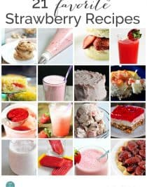 21 Favorite Strawberry Recipes from addapinch.com