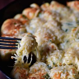 Parmesan Garlic Bread Bites Recipe from addapinch.com