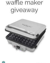 My Favorite Waffle Maker Giveaway from addapinch.com