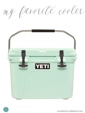 My Favorite Yeti Cooler Giveaway Winner!!
