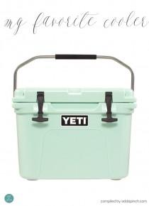 My Favorite Yeti Cooler Giveaway Winner!!