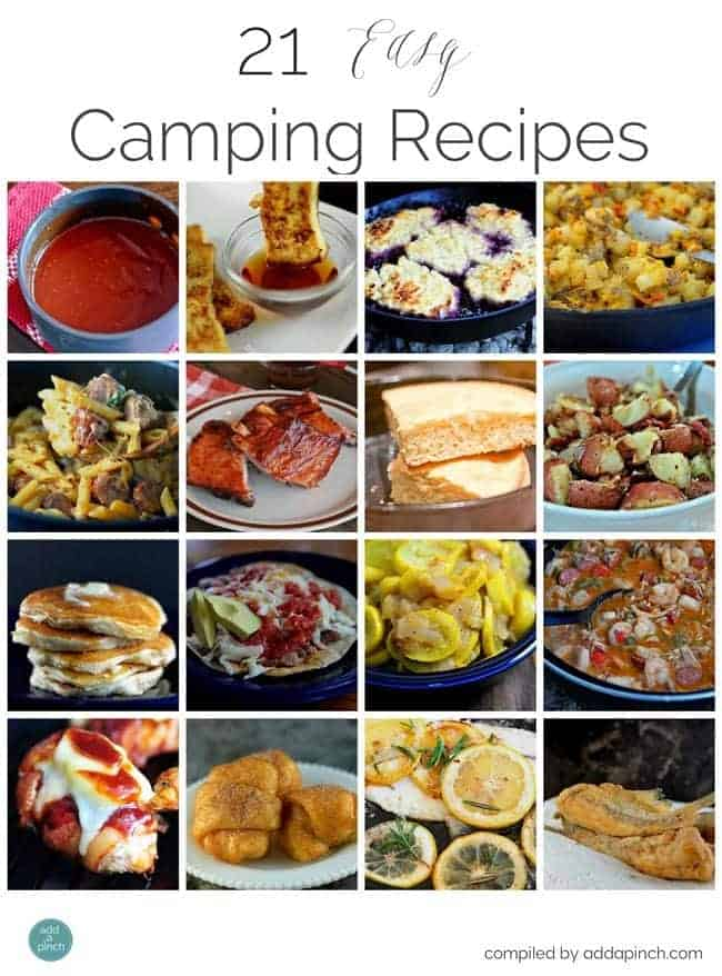 Easy Make Ahead Camping Food
