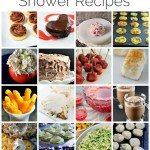 21 Favorite Shower Recipes
