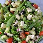 Arugula Greek Salad Recipe