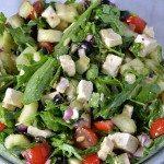 Arugula Greek Salad Recipe