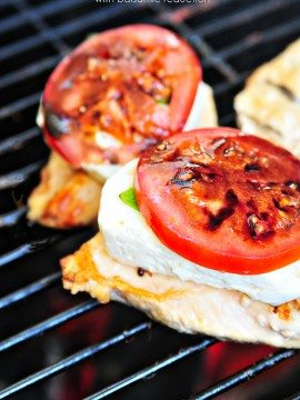 Grilled Chicken Caprese Recipe