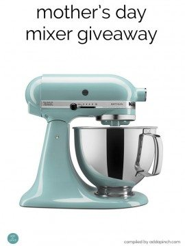 Mother's Day Mixer times TWO Giveaway Winner!