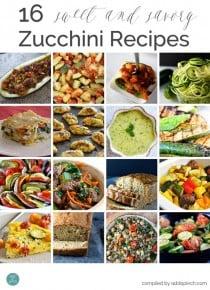16 Sweet and Savory Zucchini Recipes