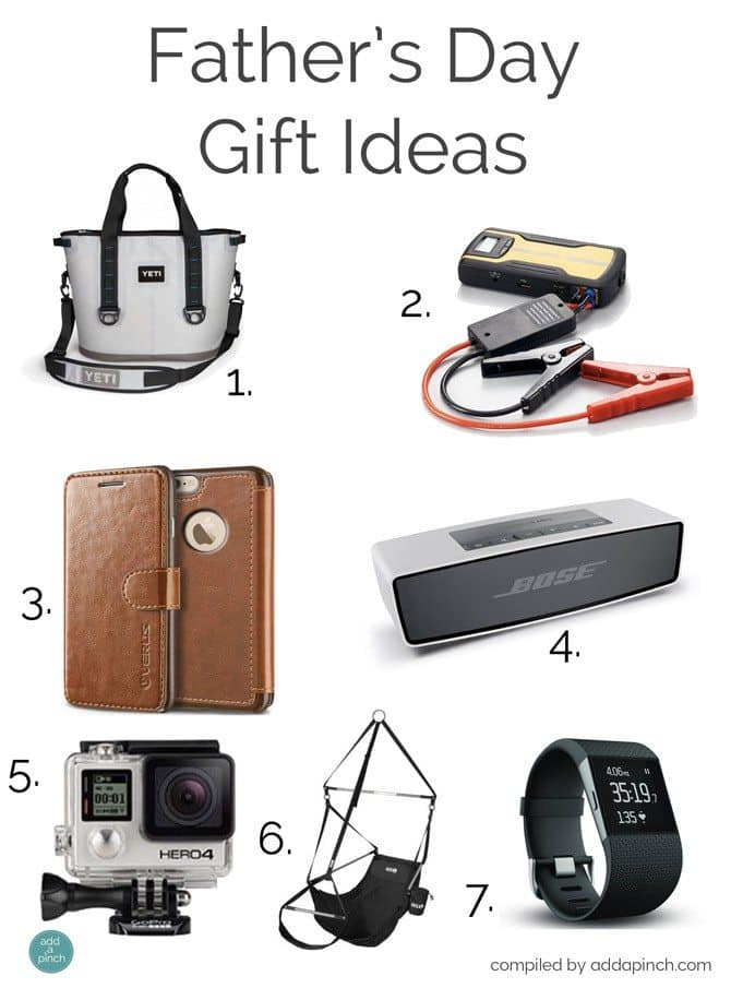 Father's Day Gift Ideas 2015 // addapinch.com