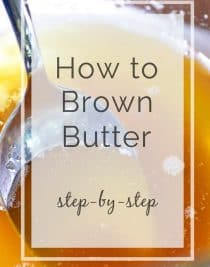 How to Brown Butter // addapinch.com